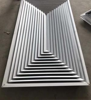 长方形散流器